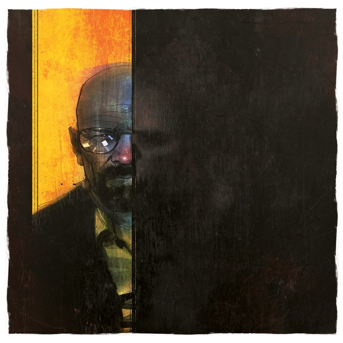 Image of The One Who Knocks- digital print by Matt Timson.