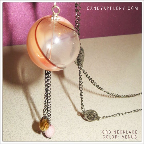 Image of Glass Orb Necklace