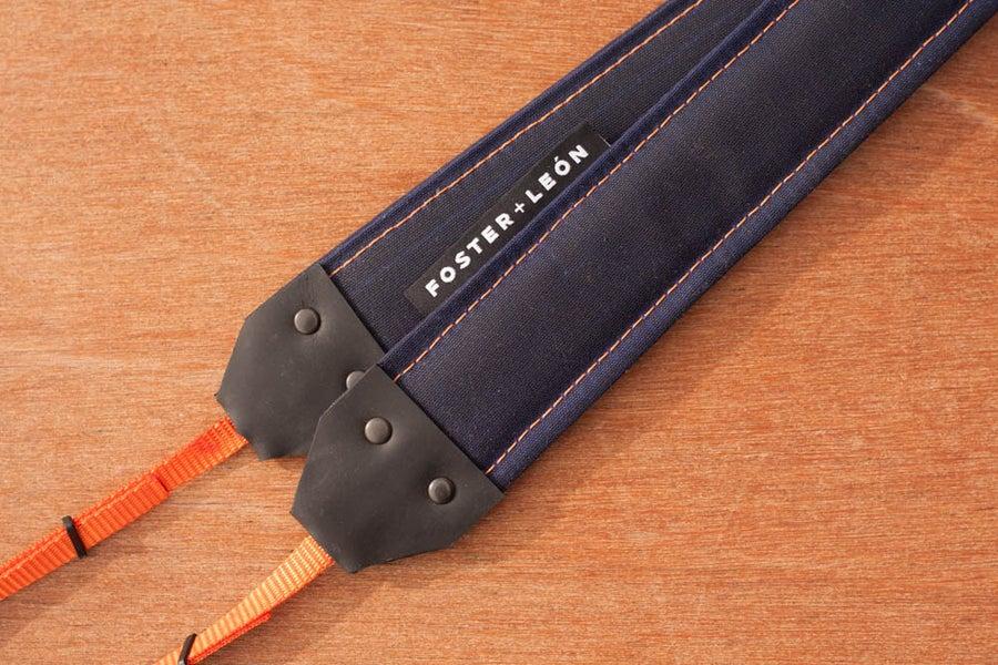 Image of Blue + Orange Camera Strap