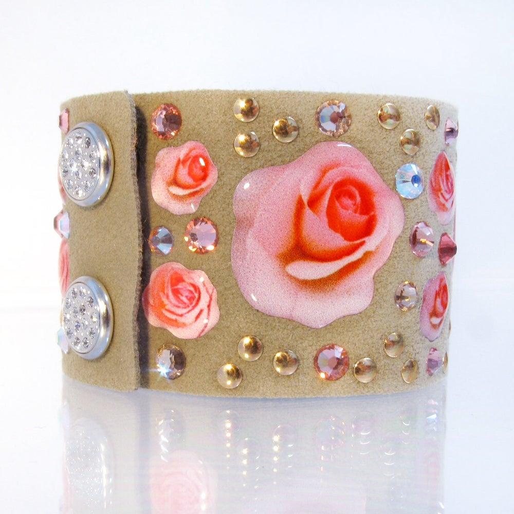 Image of Formentera Flower Rose Chiare H40 Tortora
