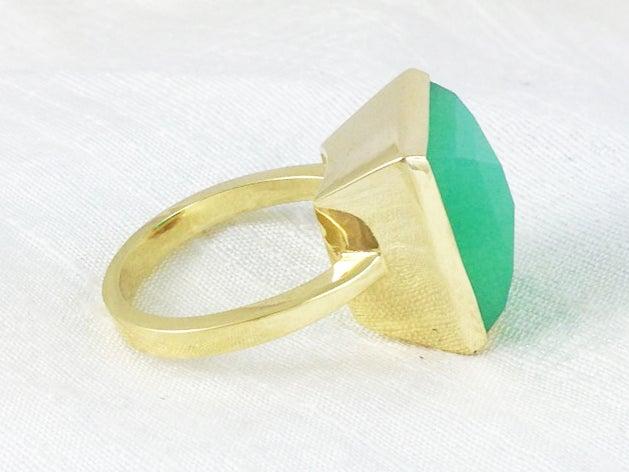 Image of Green Gold Ring