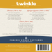 Image of Twinkle: Quilting Pattern #122