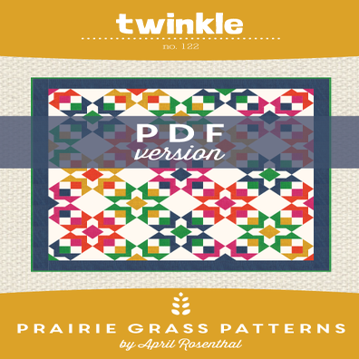 Image of Twinkle: PDF Quilting Pattern #122