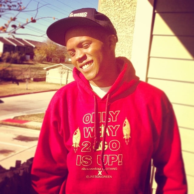 """Image of """"Only Way 2 Go Is Up"""" Hoodie (Collab with Jaeson Green)"""