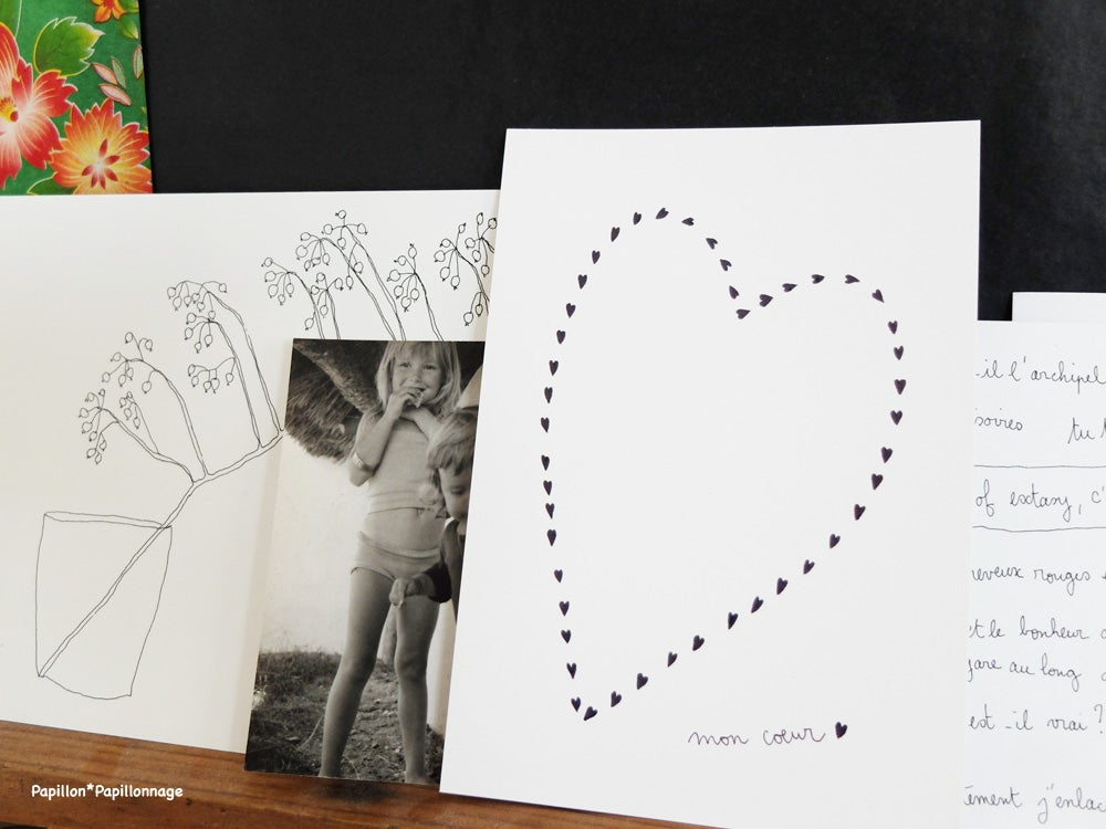 Image of Carte postale : Mon coeur