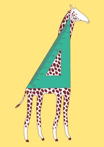 Image of Giraffe pocket notebook