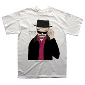 Image of Walter white - tshirt