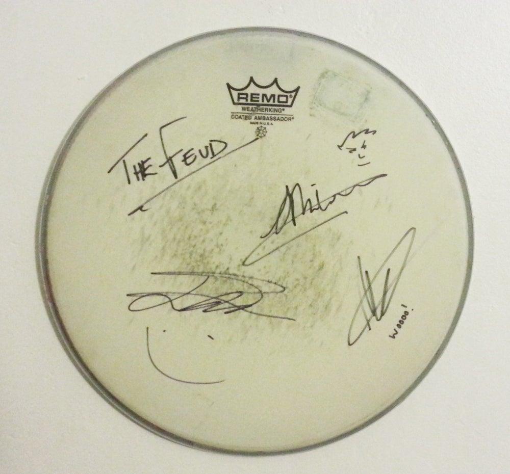 Image of Personalised Signed Drum Skin