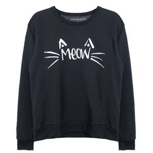 Image of 'MEOW' SWEATSHIRT