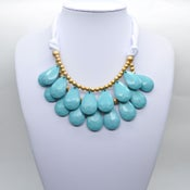 Image of Light Blue Teardrop Necklace