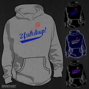 Image of 2FU! x LA Dodgers Crewneck & Hoodies