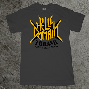 "Image of ""Thrash like a Man"" tour shirt"