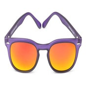 Image of Memento Audere Semper Transparent Purple/Orange Mirror