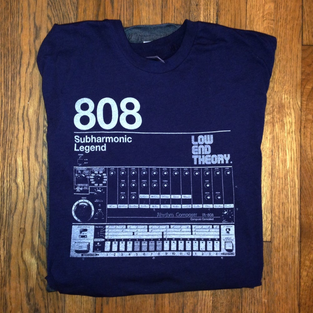 Image of LOW END THEORY 808 Subharmonic Legend Tee
