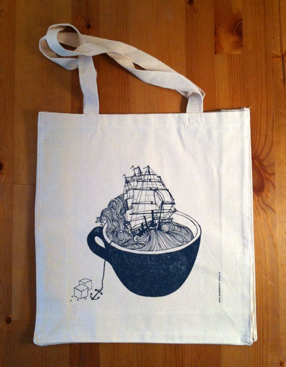 Image of Nautical Shopping Tote