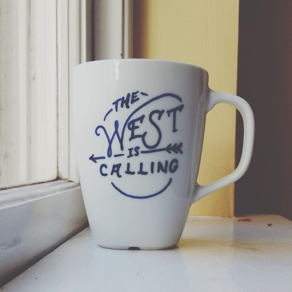 Image of The West is Calling Mug