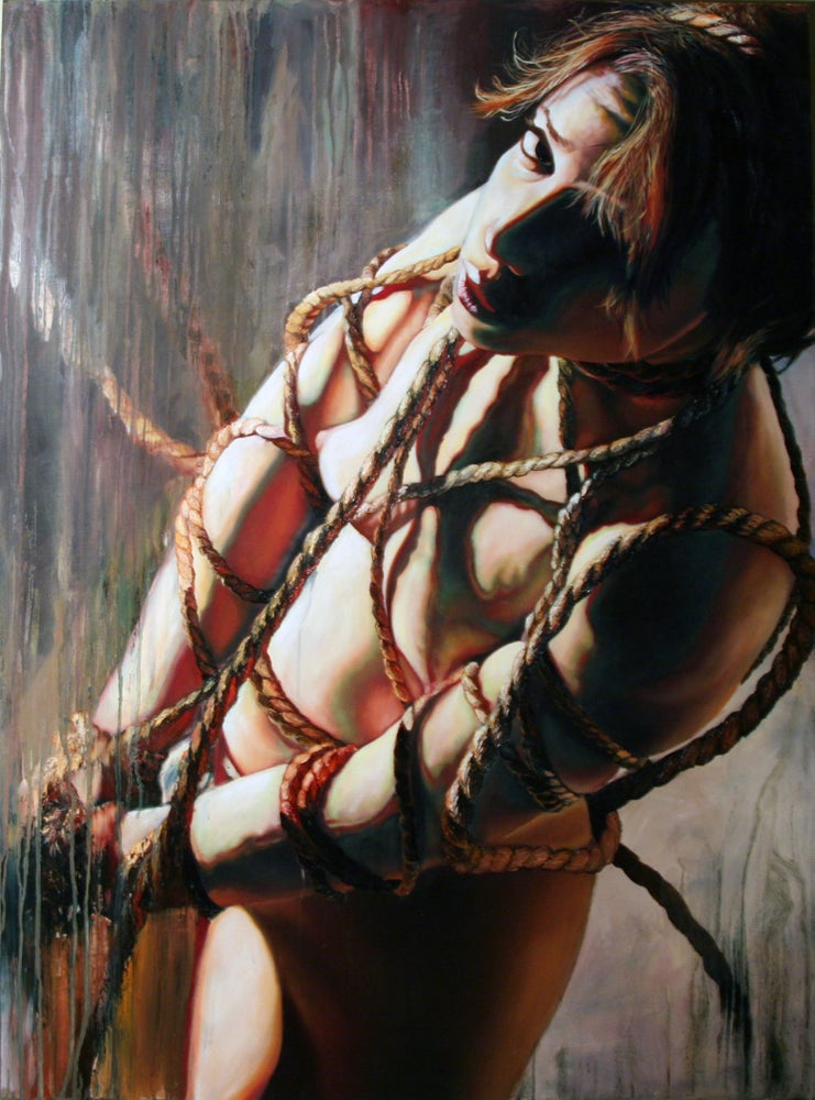Image of Bondage Series Painting 2