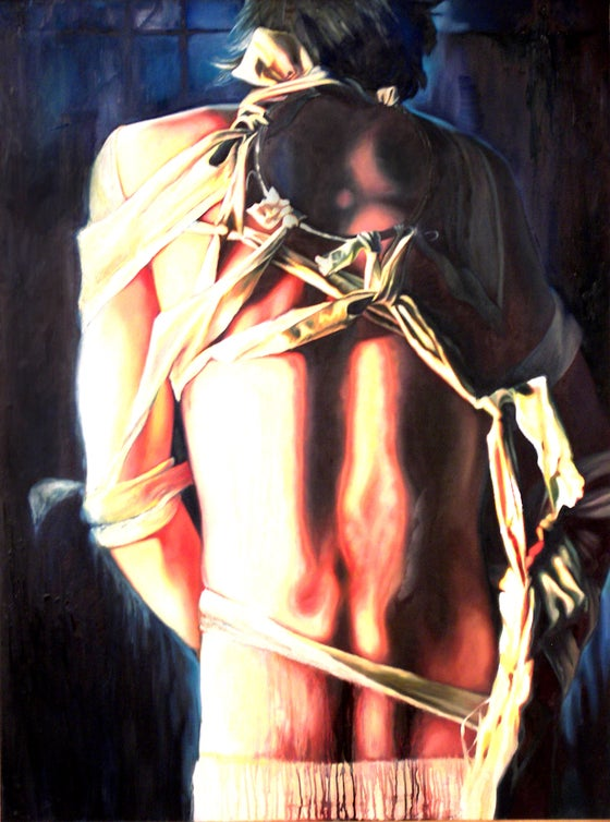 Image of Bondage Series Painting 3