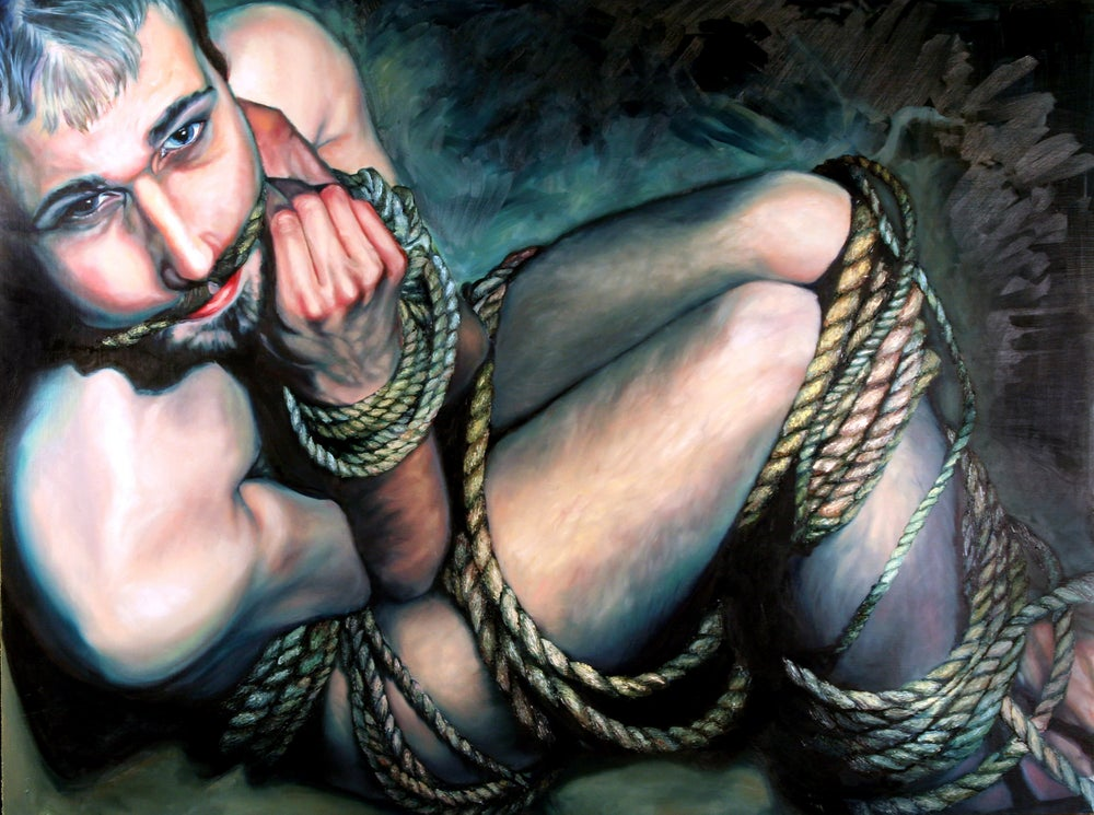 Image of Bondage Series Painting 4