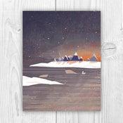 """Image of """"Winter Sunrise"""" Holiday Card"""