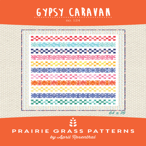Image of Gypsy Caravan: Quilting Pattern #124