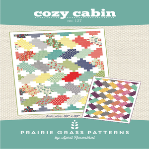 Image of Cozy Cabin: Quilting Pattern #127