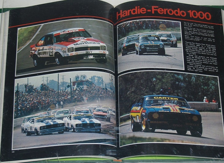 Image of Australian Competition Yearbook. 1978 Race Year.