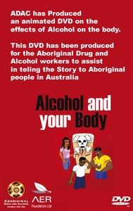 Image of ALCOHOL AND YOUR BODY ANIMATED DVD (GST Incl.)