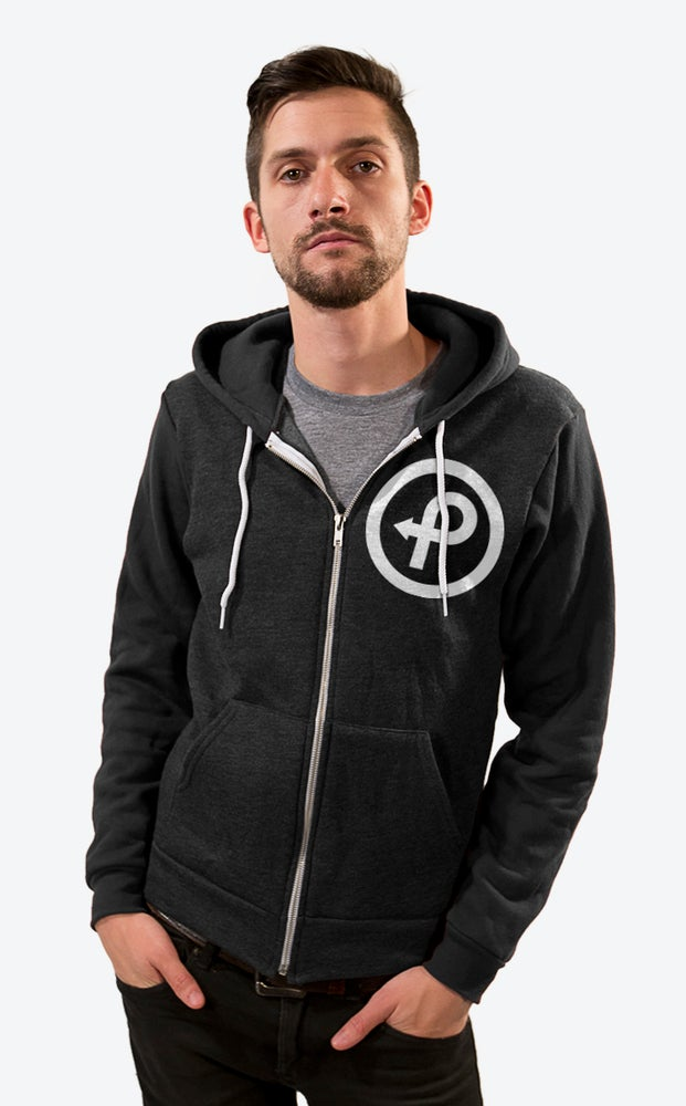 Image of Passenger Project Logo Zip-Up Hoodie - Men