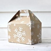 Image of Snowflake Gable Box