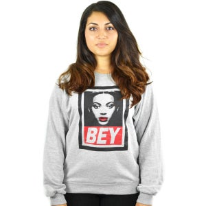 Image of Bey Heather Grey Sweatshirt (UNISEX)