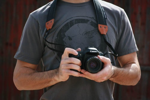 Image of Black Camera Strap