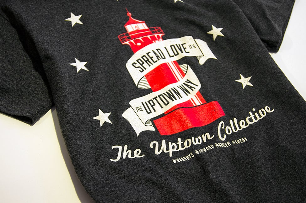 Image of The Spread Love It's The Uptown Way Tee