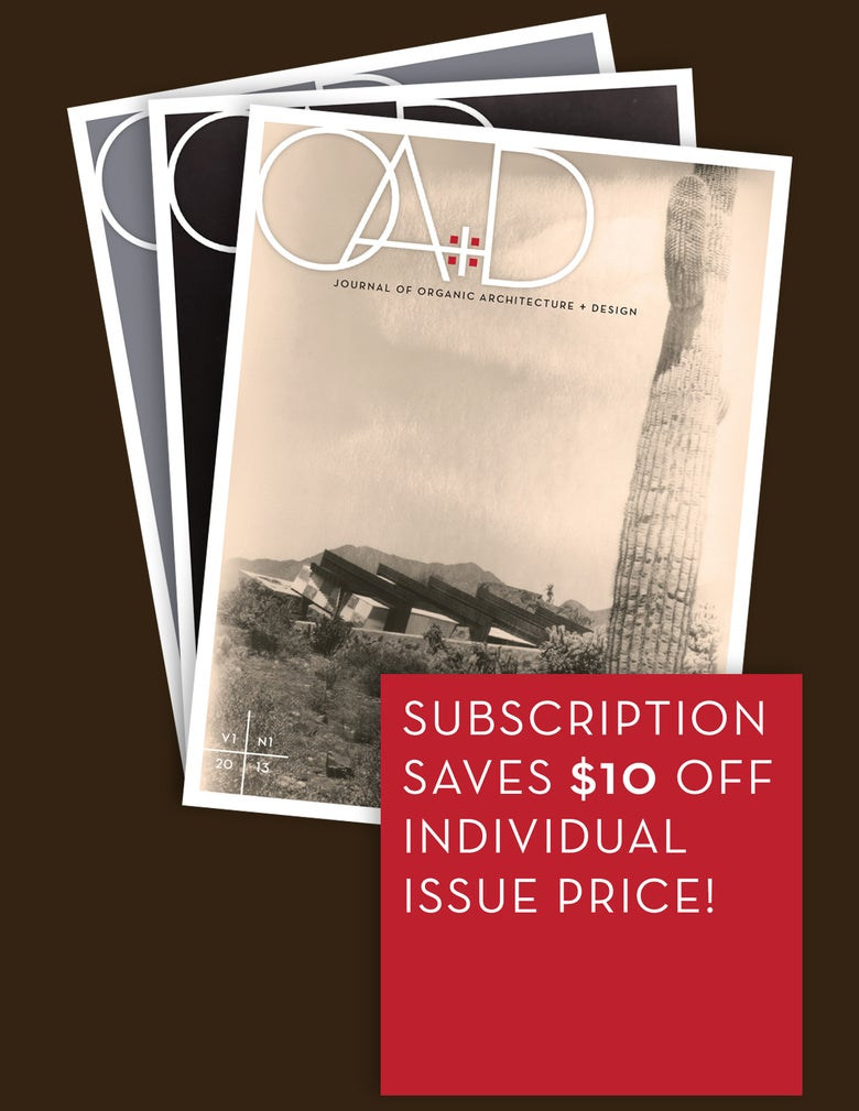 Image of JOURNAL OA+D ANNUAL SUBSCRIPTION