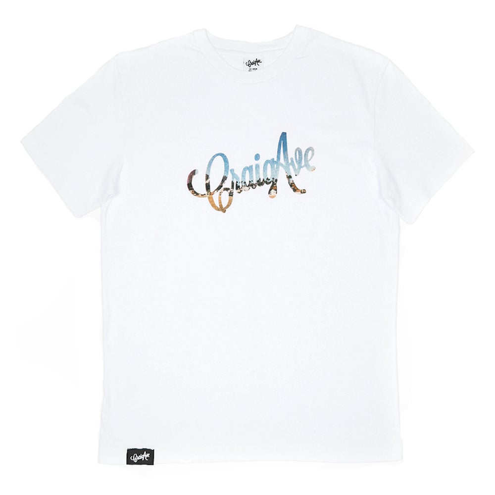 Image of Vacation Tee in White