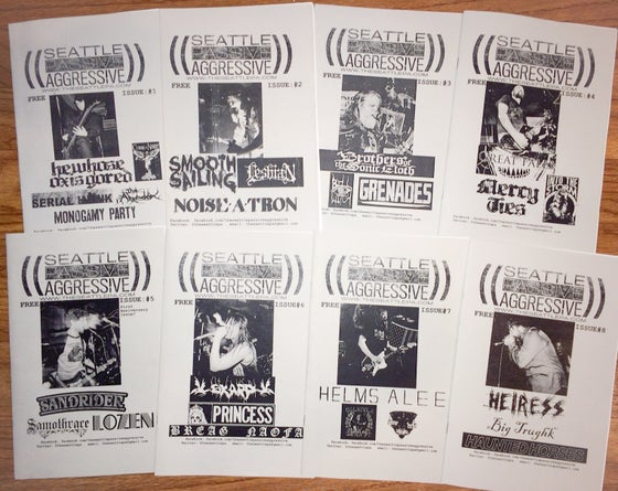 Image of Seattle Passive Aggressive Issues 1-8 Bundle