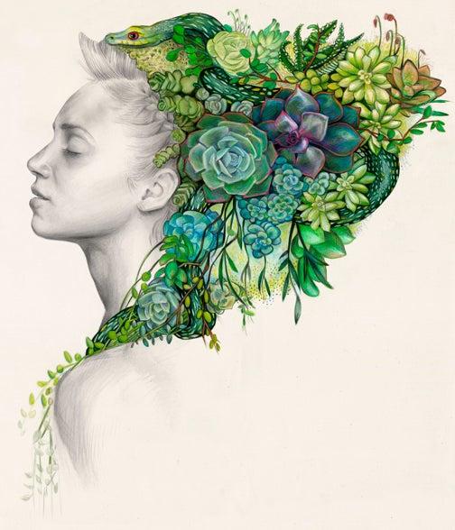 Image of Jade Print