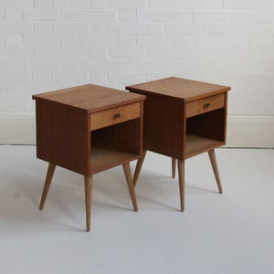 Image of Mid-century bedside tables
