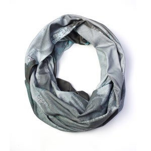 Image of December Grey Long Statement Scarf