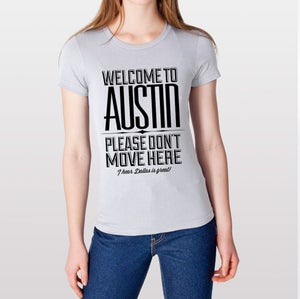 Image of Welcome To Austin (Women's Classic)