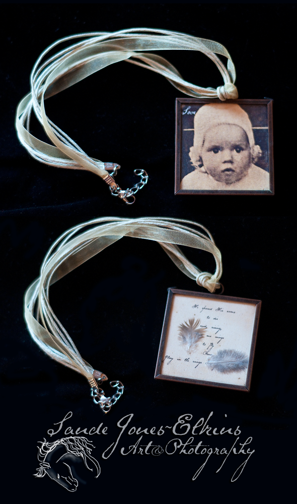 Image of Treasured Memories Custom Locket or Ornament