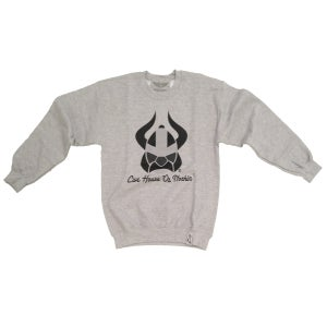 Live House Or Nothin' Viking Sweater (Grey/Black/Grey)