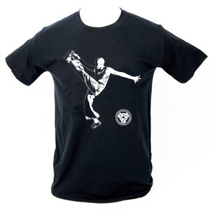 Image of 'High Kick' T-Shirt - Black.