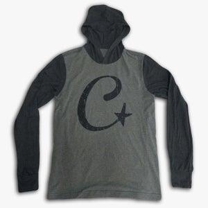Image of Long Sleeve C-STAR Hooded Tee (UNISEX)