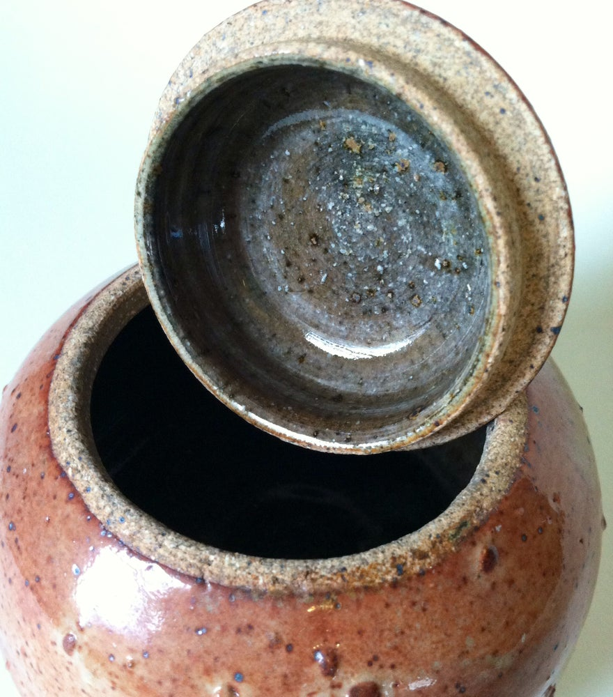Image of Lidded jar