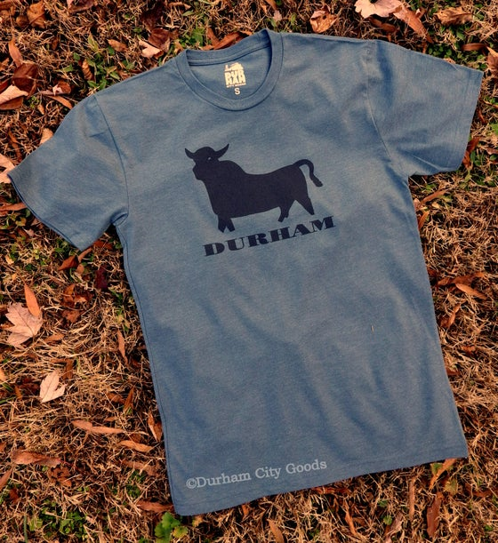 Image of Bull Icon tee - blue