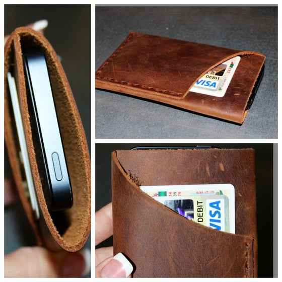 Image of iPhone 5 Leather Case