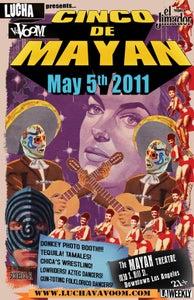 Image of Lucha VaVOOM Cinco de Mayan 2011