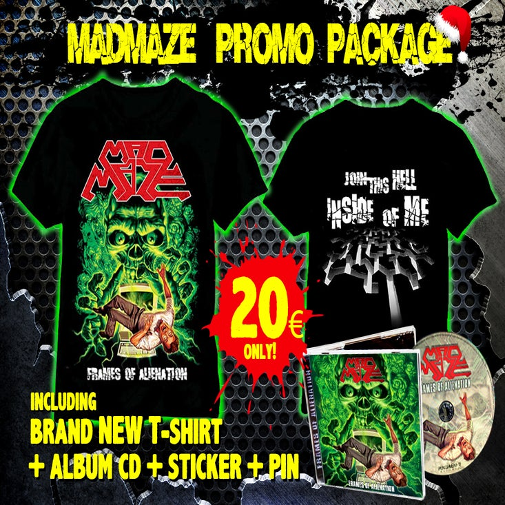 Image of MAD-MAZE PROMO PACKAGE !!!