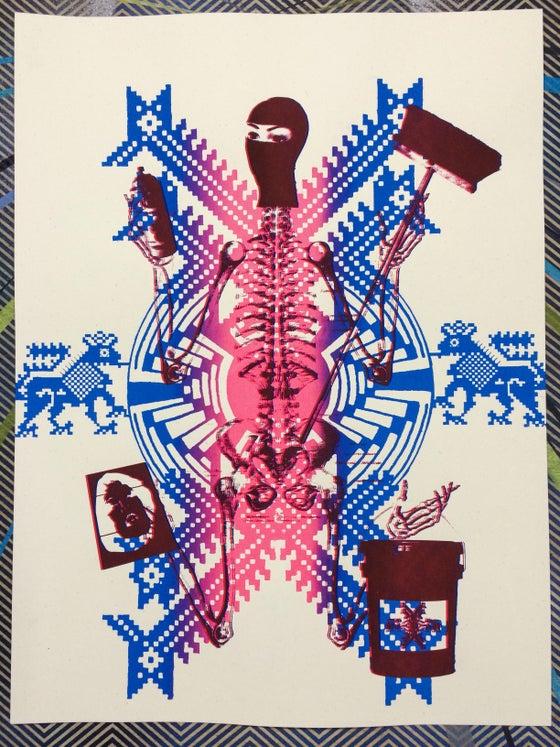 Image of print//18x24//Vandal